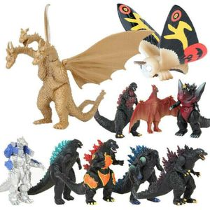 10PCS Ghidorah vs Godzilla 2 Actionfigur King of the Monsters Figuren Weihnachten Spielzeugfiguren Geschenk für Kinder