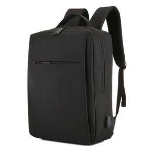 Reise-Laptop-Rucksack mit USB-Ladeanschluss Langlebige Business-Rucksaecke mit grosser Kapazitaet und separatem Fach Fuer 15/17 Zoll Computer-Tasche