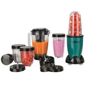 Standmixer Smoothie Maker Mixer Blender Edelstahlklingen 400 Watt Mr Magic Milch