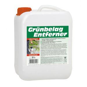 Grünbelag Entferner für Innen und Außenbereich chlorfrei 5 Liter