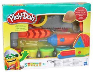 Play-Doh Knet Baustelle Kinderknete mit Säge Bohrer Hammer und Knetgummi