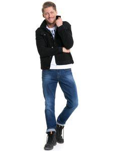 Big Star Herren Jeansjacke Jacke STANLEY CORD 130176900 BLACK-900 S