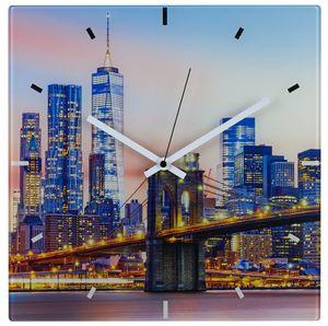 TFA 60.3531.90 Funk-Wanduhr NEW YORK ohne Batterie