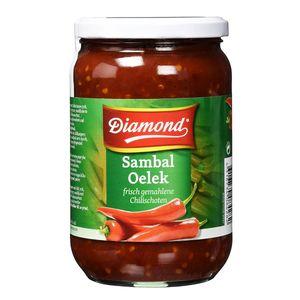 Diamond Sambal Oelek frisch gemahlene Chilischoten sehr scharf 750g
