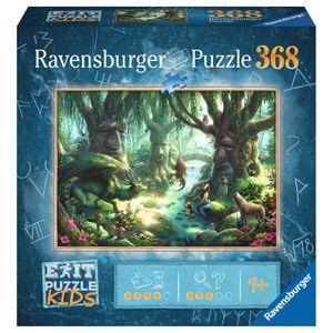 RAVENSBURGER Kinderpuzzle EXIT Puzzle Kids Der magische Wald 368 Teile Escape