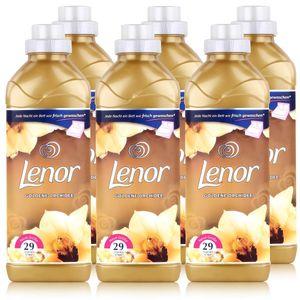 Lenor Goldene Orchidee Weichspüler 870 ml / 29 Waschladungen (6er Pack)