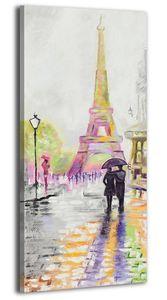 """YS-Art Acryl Gemälde """"Liebliches Paris"""" 119"""