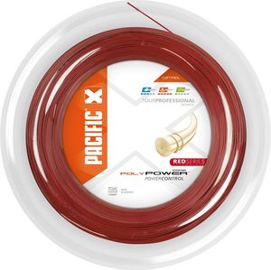 Pacific squash-Schnur PC Poly Power 1,30 mm 200 Meter rot