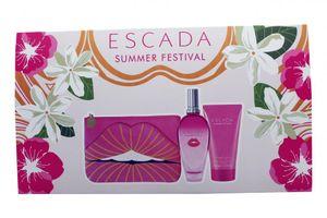 Escada Summer Festival Set 100 ml EDT & 150 ml Body Cream & BeautytascheNEU