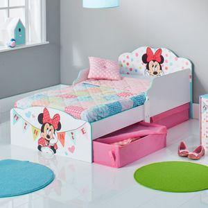 Minnie MDF Kinderbett mit 2 Schubladen