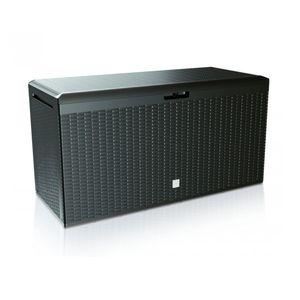 Gartenbox BOX RATAN PLUS Gartenkiste Boxe Rato Plus 290L anthrazit Aurbewahrungsbox