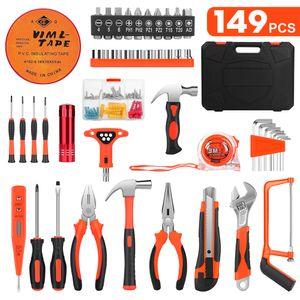SOLEDI 149 tlg Werkzeugkoffer bestückt Set Werkzeug Satz Werkzeugkiste Werkzeugkasten
