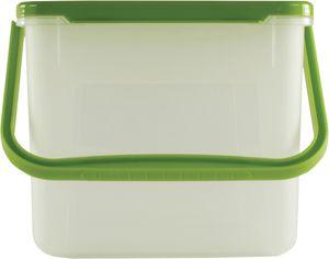 Rotho 913551 Waschmittelbehälter 4,5 l für 3 kg, 21 x 20 x 18 cm