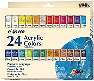 Acrylfarben 24er Set EL GRECO