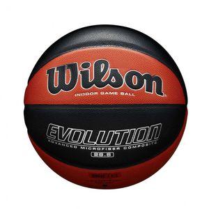 Wilson basketball Evolution Gummi orange/schwarz Größe 7