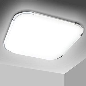 karpal 12W 15W 18W 36W 48W LED Deckenleuchte Modern Deckenlampe 6000K-6500K Weiss Flur Wohnzimmer Lampe Schlafzimmer 85V-265V Energiespar (12W)