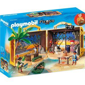 PLAYMOBIL Mitnehm-Pirateninsel, 70150