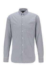 Hugo Boss Magneton_1 Herren Hemd, Farbe:Weiß, Größe:L