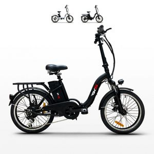 Fahrrad Elektrofahrrad Faltbike Rks Gt 25 ShimanoFarbe: Schwarz