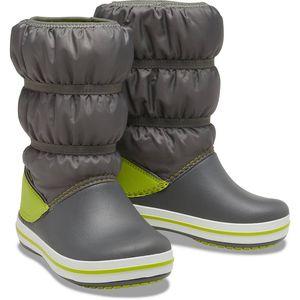 Crocs Crocband Winter Boot K Slate Grey/Lime Punch Größe EU 28-29 Normal