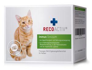 RECOACTIV® Immun Tonicum für Katzen, 3 x 90 ml