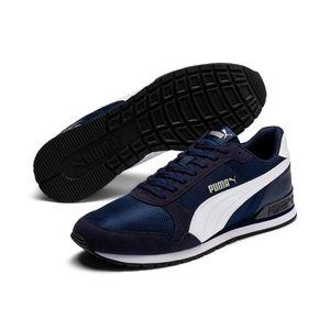 Puma Uni ST Runner v2 Mesh Sneaker Low Turnschuhe Peacoat Blau , Größe:UK 6 - EUR 39 - 25 cm