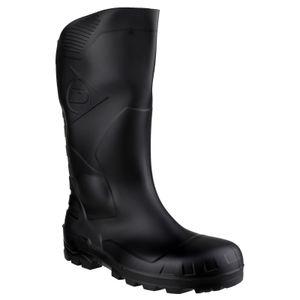 Dunlop Devon Unisex Gummistiefel / Sicherheitsgummistiefel FS2696 (40 EUR) (Schwarz)