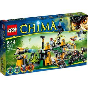 Lego Legends of Chima 70134 Lavertus Lagerversteck mit 4 Mini Figuren Neu