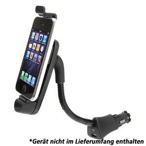 Kfz-Halterung iPhone/iPod mit Ladefunktion, Flexible Positionierung