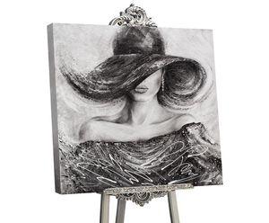 """YS-Art Glamour Acryl Gemälde """"Charme """" GML004"""