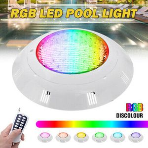 45W 450LED RGB Schwimmbad Lampe LED Poolbeleuchtung Teichbeleuchtung Poollicht