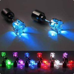 LED Diamant-Ohrstecker LED Ohrstecker (2 Stück) - Farbwechsel