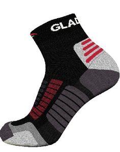 Gladiator Sports Kompressionssocken (Paarweise - in weiß und schwarz erhältlich)