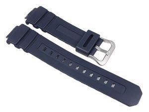 Casio G-Shock Uhrenarmband Resin Band Dunkelblau für AWG-M100 AWR-M100