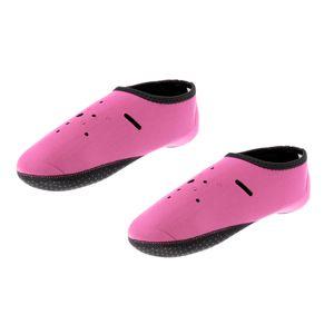 2mm Neopren Socken Schwimmen WassersportSurfen Tauchen Aqua Sock Beach Boots XL Rosa