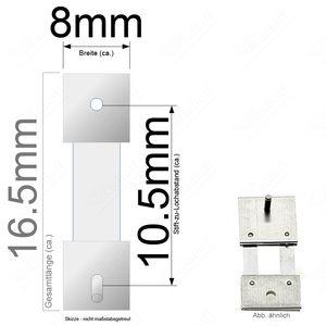 Pendelfeder für Standuhr, Großuhr Regulator 10,5mm Stiftabstand