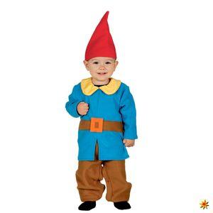 Fiestas Guirca kostüm Zwerg junior blau Größe 12-24 Monate