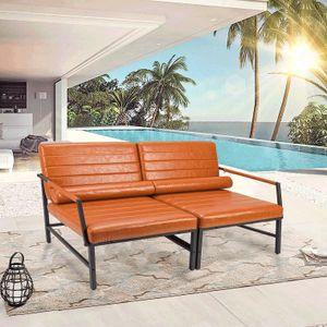 Futurefurniture®1er Set gartenmöbel set, gartenmöbel, gartenstühle,  -Braun