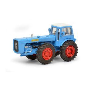 Schuco 452641200 Dutra D4K mit Kabine Traktor blau Maßstab 1:87