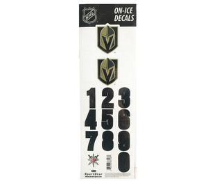 Helmsticker Set NHL Sportstar Vegas Golden Knights