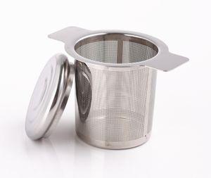 Teesieb Edelstahl Teefilter Edelstahlsieb mit Henkel Teenetz Teekorb Teeei