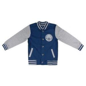 Jacke Für Kinder Frozen 74127 Marineblau Grau 6 Jahre