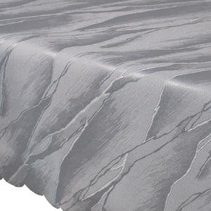 Tischdecke Jacquard Elegance - Tischwäsche mit edler und r Optik, Farbe:Silber, Größe:80x80 cm