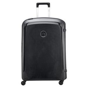 DELSEY Belfort 3 XL 4-Rollen Koffer 4-Rad Trolley Hartschale 76 cm 00 3843 830, Farbe:Schwarz