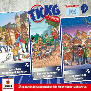 TKKG Junior - Spürnasen-Box 3 (Folgen 7,8,9) - CD