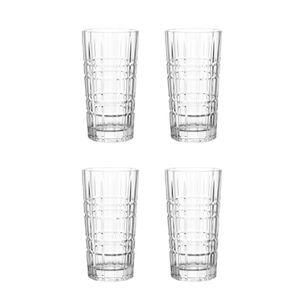 LEONARDO 22760 Spiritii Longdrinkbecher, 400 ml, Teqton-Glas, klar (4 Stück)