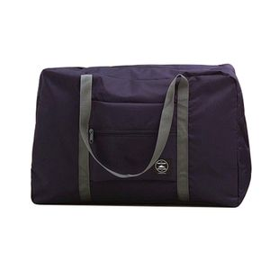 Faltbare große Reisetasche wasserdicht dunkelblau ALCYONEUS1