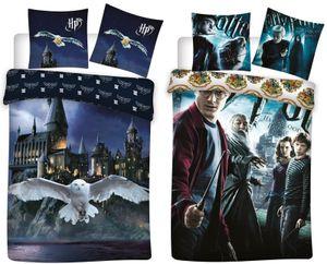 Harry Potter - 2 x Bettwäsche-Set mit Wendemotiv, 135x200 & 80x80