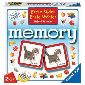 RAVENSBURGER Kinderspiel Erste Bilder - Erste Wörter memory® Legekartenspiel