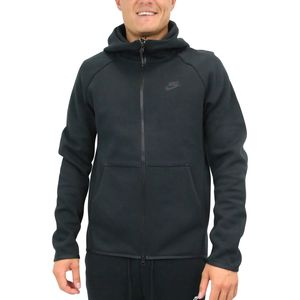 Nike Sportswear Tech Fleece Herren Hoodie Herren Schwarz (928483 010) Größe: XL